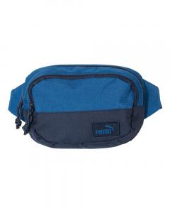 Heather Blue/ Navy Fanny Pack