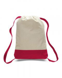 Natural/ Red 8L Sport Backpack