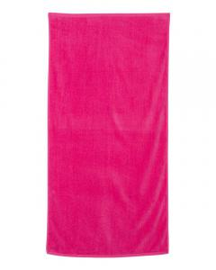 Hot Pink Velour Beach Towel