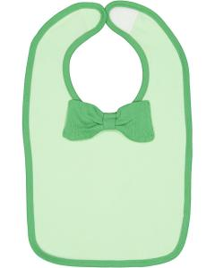 Mint/ Grass Infant Bow Tie Bib