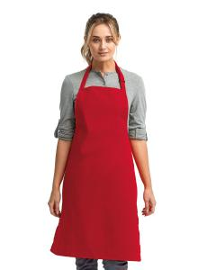 Red Colors Sustainable Bib Apron