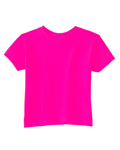 Hot Pink Toddler Cotton Jersey T-Shirt