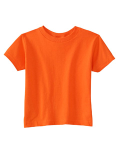 Orange Toddler Cotton Jersey T-Shirt