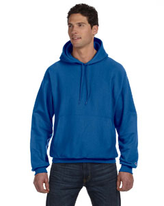 Team Blue 12 oz., 82/18 Reverse Weave Pullover Hood