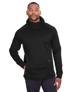 Black Mens Hayer Hooded Sweatshirt