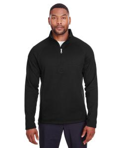 Black/ Black Mens Constant Half-Zip Sweater