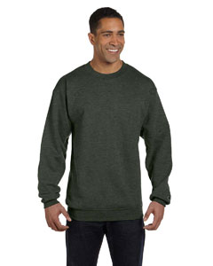 Ath Green Hther Eco® 9 oz., 50/50 Crew