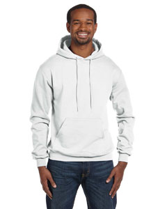 White Eco® 9 oz., 50/50 Pullover Hood