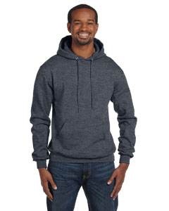 Charcoal Heather Eco® 9 oz., 50/50 Pullover Hood