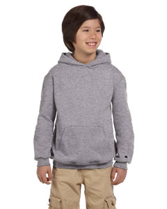 Light Steel Youth Eco® 9 oz., 50/50 Pullover Hood