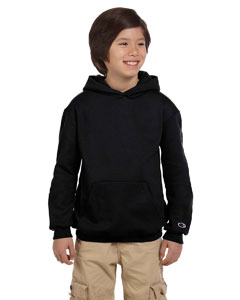 Black Youth Eco® 9 oz., 50/50 Pullover Hood