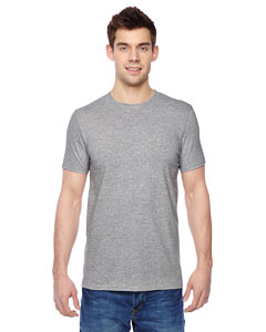 Athletic Heather Adult 4.7 oz. Sofspun® Cotton Jersey Crew T-Shirt