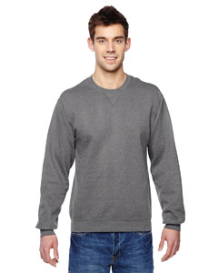 Charcoal Heather 7.2 oz. Sofspun™ Crewneck Sweatshirt
