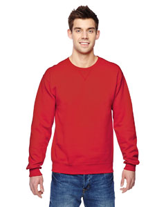 Fiery Red 7.2 oz. Sofspun™ Crewneck Sweatshirt