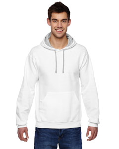 White 7.2 oz. Sofspun™ Hooded Sweatshirt
