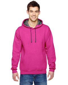 Cyber Pink 7.2 oz. Sofspun™ Hooded Sweatshirt