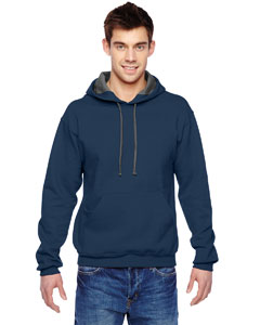 J Navy 7.2 oz. Sofspun™ Hooded Sweatshirt