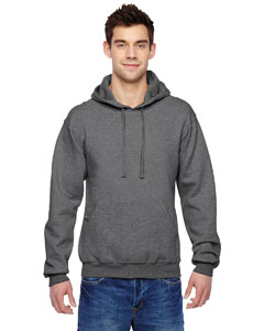 Charcoal Heather 7.2 oz. Sofspun™ Hooded Sweatshirt