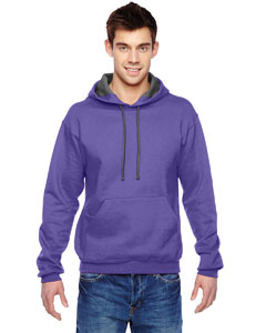 Purple 7.2 oz. Sofspun™ Hooded Sweatshirt