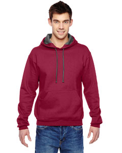 Cardinal 7.2 oz. Sofspun™ Hooded Sweatshirt