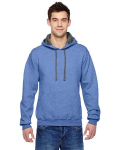 Carolina Heather 7.2 oz. Sofspun™ Hooded Sweatshirt
