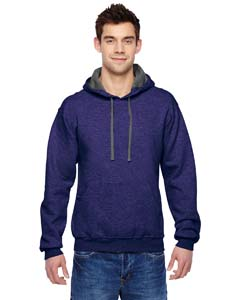 Heather Grape 7.2 oz. Sofspun™ Hooded Sweatshirt