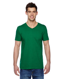 Clover 4.7 oz., 100% Sofspun™ Cotton Jersey V-Neck T-Shirt