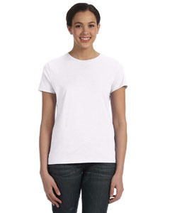 White Women's 4.5 oz., 100% Ringspun Cotton nano®-T T-Shirt