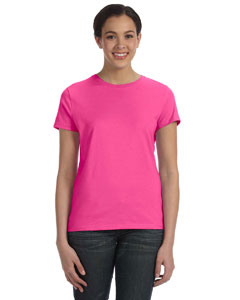 Wow Pink Women's 4.5 oz., 100% Ringspun Cotton nano®-T T-Shirt