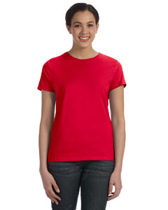 Deep Red Women's 4.5 oz., 100% Ringspun Cotton nano®-T T-Shirt