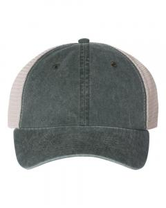 Forest/ Stone Unisex Pigment-Dyed Trucker Cap