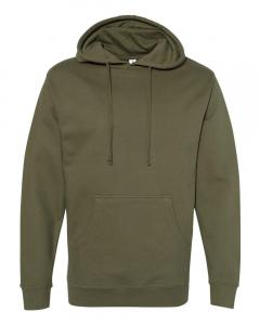 Army Unisex Midweight Hooded Sweatshirt