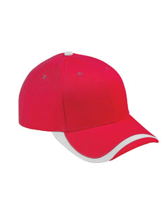 Red/white Sport Wave Baseball Cap