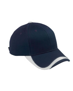 Navy/white Sport Wave Baseball Cap