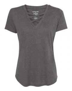 Granite Women's Cage Front T-Shirt