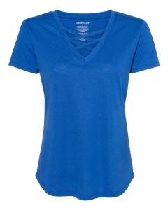 Royal Women's Cage Front T-Shirt
