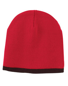 Red/black Knit Cap
