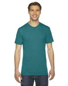 Tri Evergreen Unisex Triblend Short-Sleeve Track T-Shirt