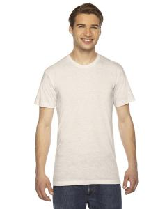 Tri Oatmeal Unisex Triblend Short-Sleeve Track T-Shirt
