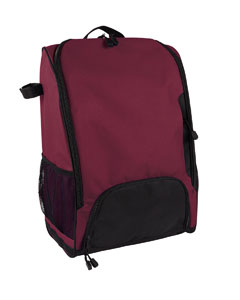 Sport Maroon Bat Backpack