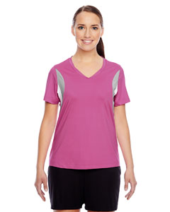 Sp Charity Pink Ladies' Short-Sleeve V-Neck All Sport Jersey