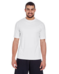 White Men's Zone Performance Tee