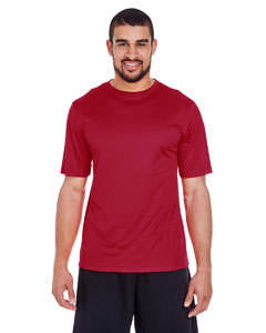 Sport Scrlet Red Men's Zone Performance Tee