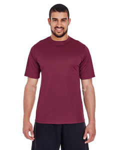 Sport Maroon Men's Zone Performance Tee