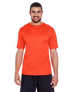 Sport Orange Men's Zone Performance Tee