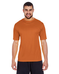 Sprt Brnt Orange Men's Zone Performance Tee