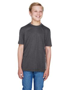 Dk Grey Heather Youth Sonic Heather Performance T-Shirt