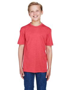 Sp Red Heather Youth Sonic Heather Performance T-Shirt