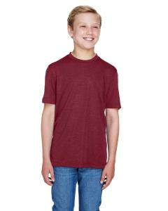 Sp Maroon Hthr Youth Sonic Heather Performance T-Shirt