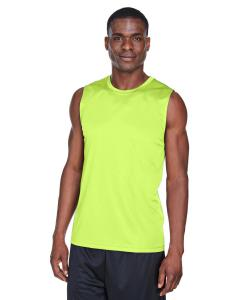 Safety Yellow Men's Zone Performance Muscle T-Shirt